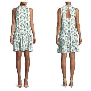 Buffalo David Bitton Floral Ruffle Drop-Waist 👗